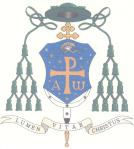 Stemma della diocesi di Chieti-Vasto di cui è Vescovo Bruno Forte