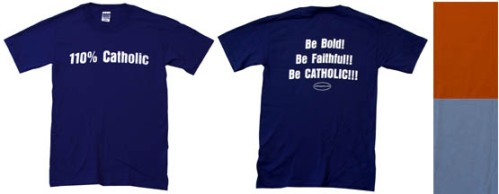 T-shirt identitaria da Catholictothemax.com