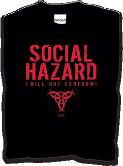 T-shirt militante da Kerusso.com