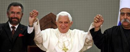 MIDEAST ISRAEL PALESTINIANS POPE